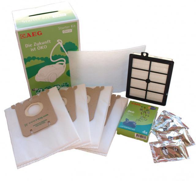 ELECTROLUX GSK 2 - SBAG Green 4ks, HEPA filtr Hygiene H12 omyvatelný, filtr vůně